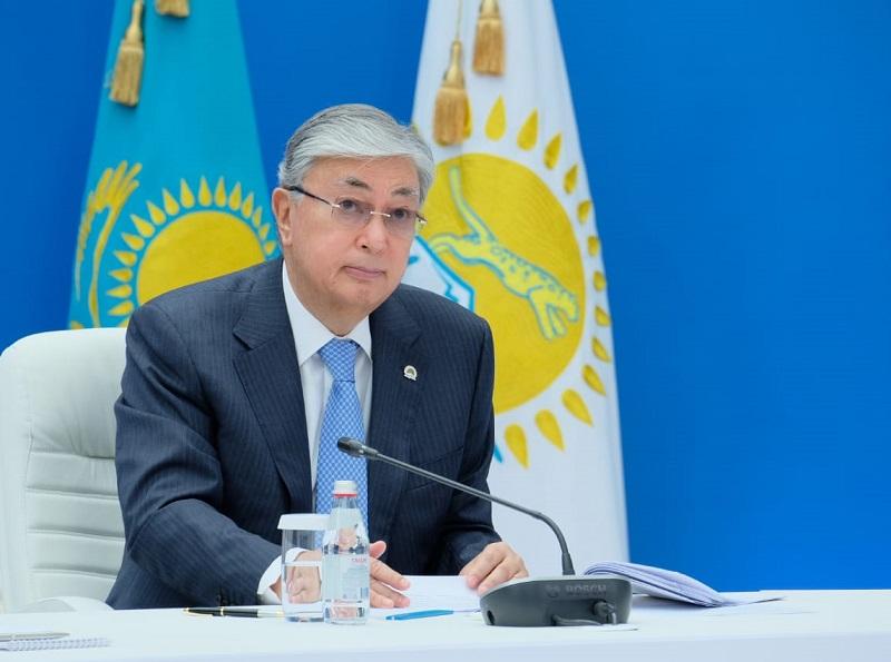 Токаев: Нам надо постепенно избавляться от водозатратных производств