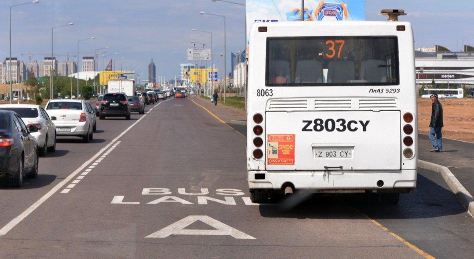 Bus Lane проложат по центру Астаны