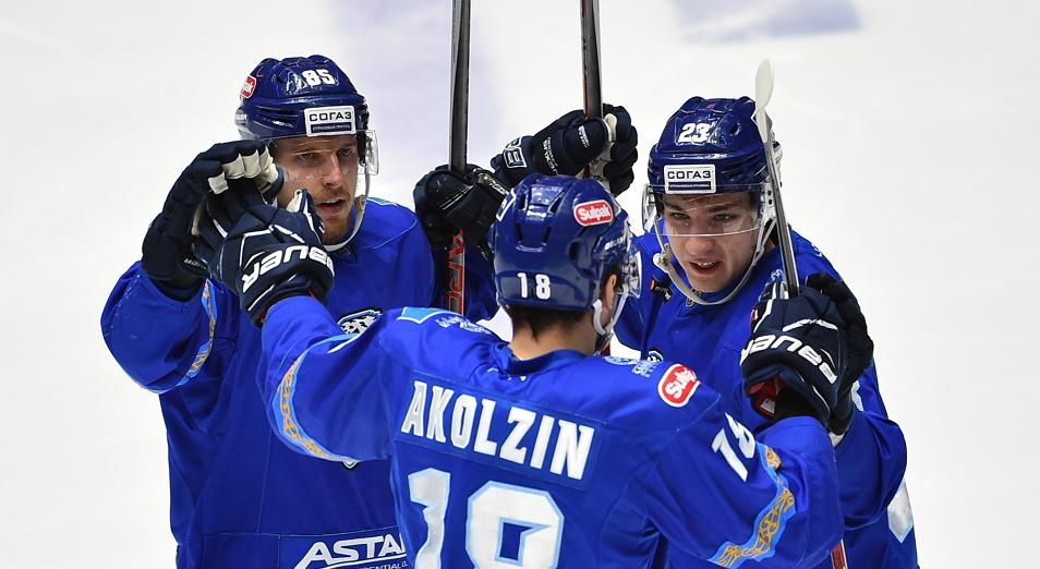 «Барыс» победил «Металлург» в матче КХЛ