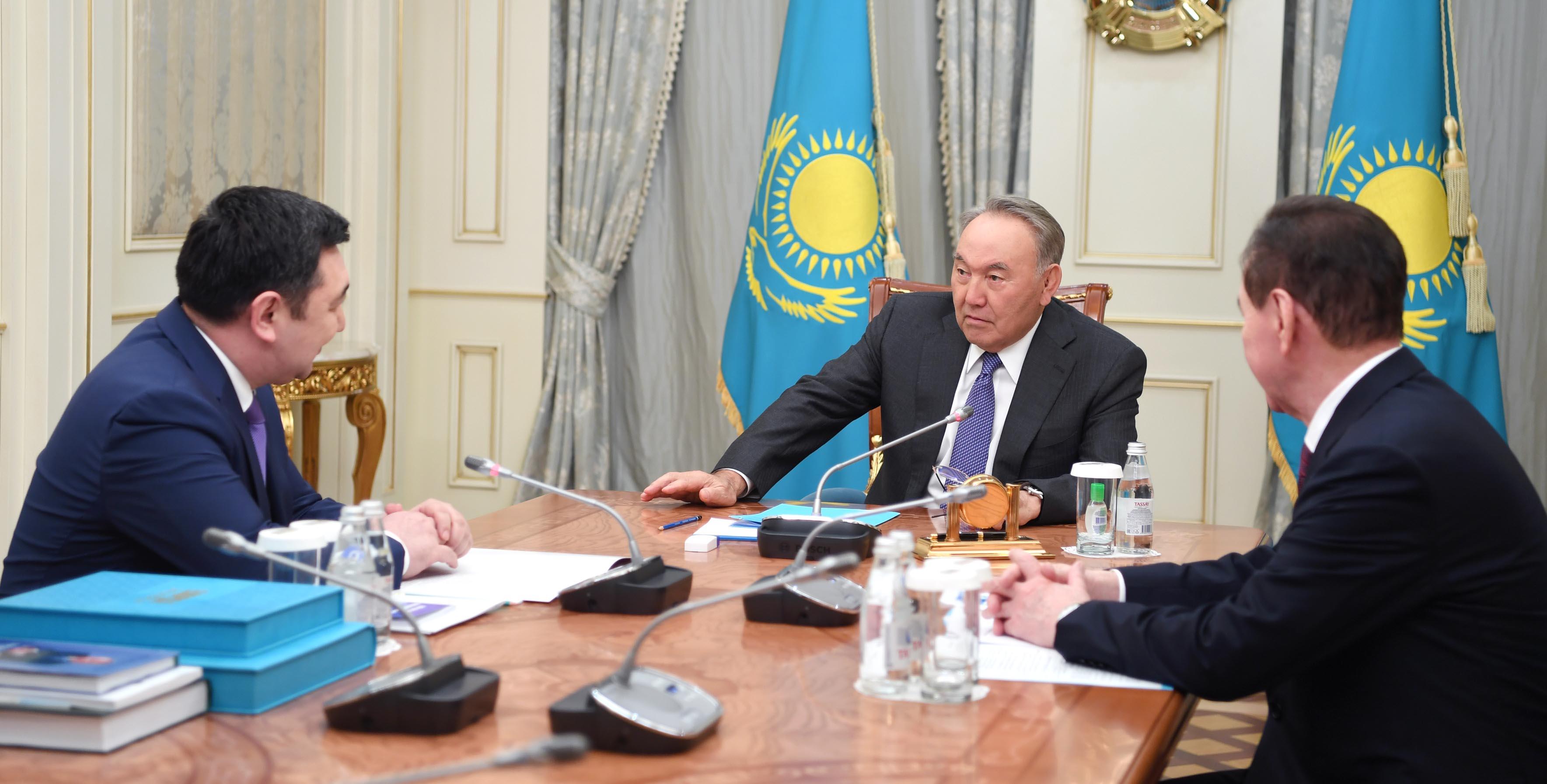 Глава Международной тюркской академии доложил Назарбаеву о дальнейших планах работы
