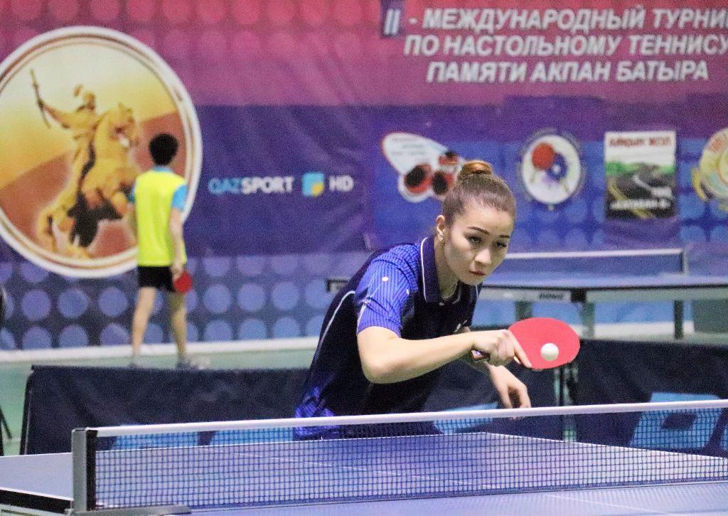 В Шымкенте завершился Международный турнир по настольному теннису, посвященный памяти Акпан-батыра