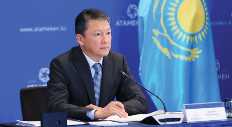 Обеспечить продовольственную безопасность и рабочие места: Тимур Кулибаев о развитии пищепрома