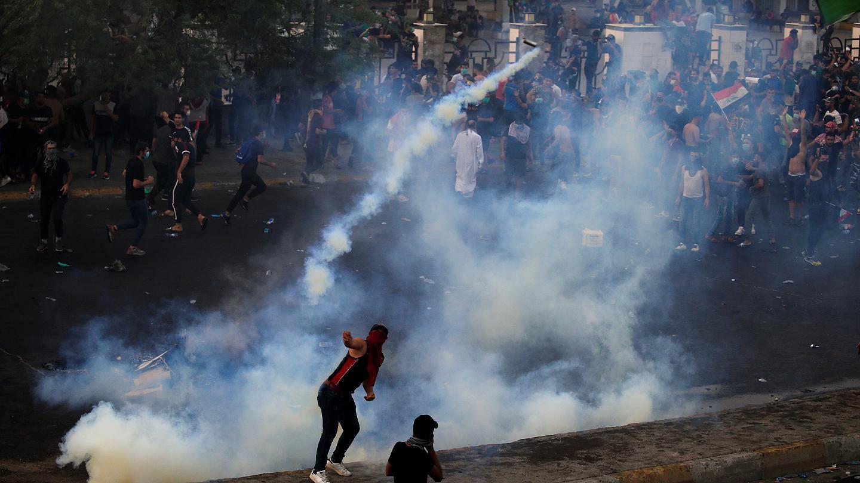 До 23 человек выросло число погибших при разгоне протестующих в Ираке
