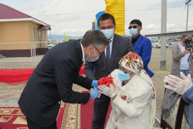 Алматы облысының Кеген ауданында 15 отбасы баспаналы болды