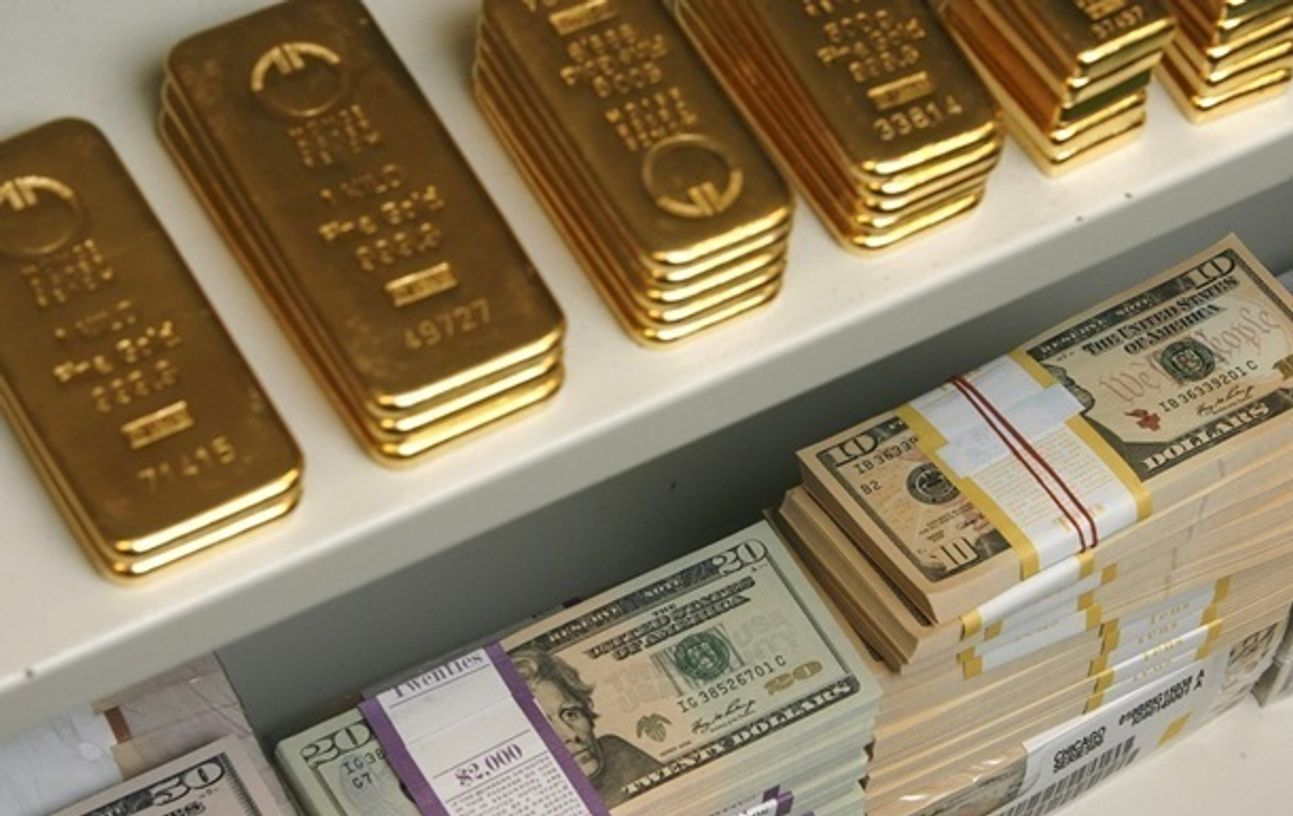 Международные резервы России за неделю выросли на $8,9 млрд