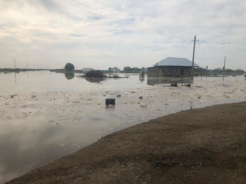 На юге Казахстана в результате прорыва дамбы в Узбекистане подтоплены 620 домов