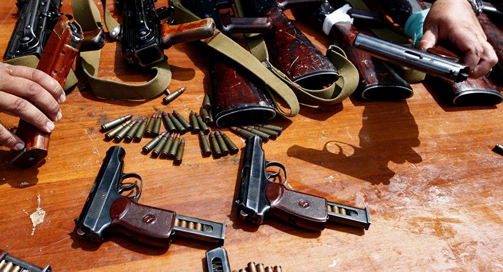 Охотничьи ружья и травматические пистолеты изъяты у участников беспорядков на юге Казахстана – МВД