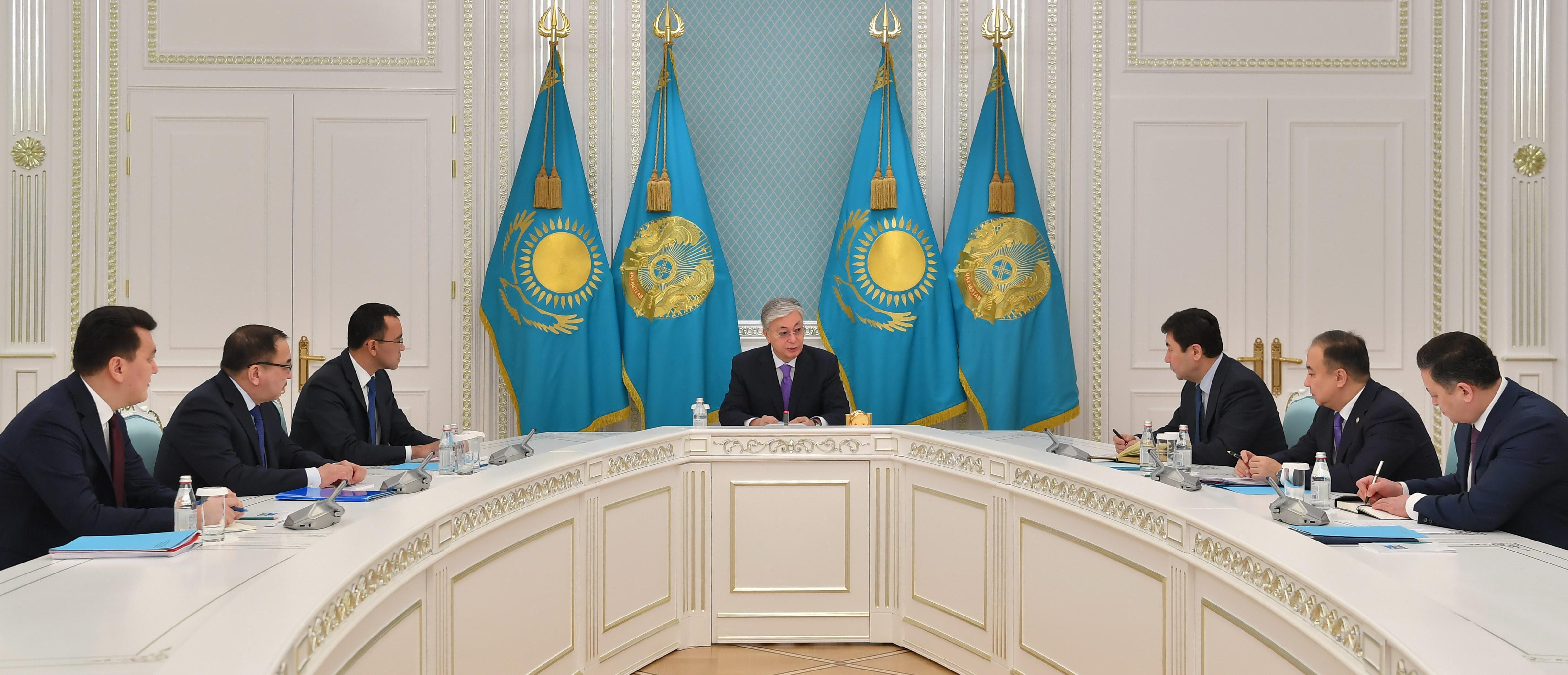 Токаев обозначил приоритеты работы на 2020 год для своей администрации