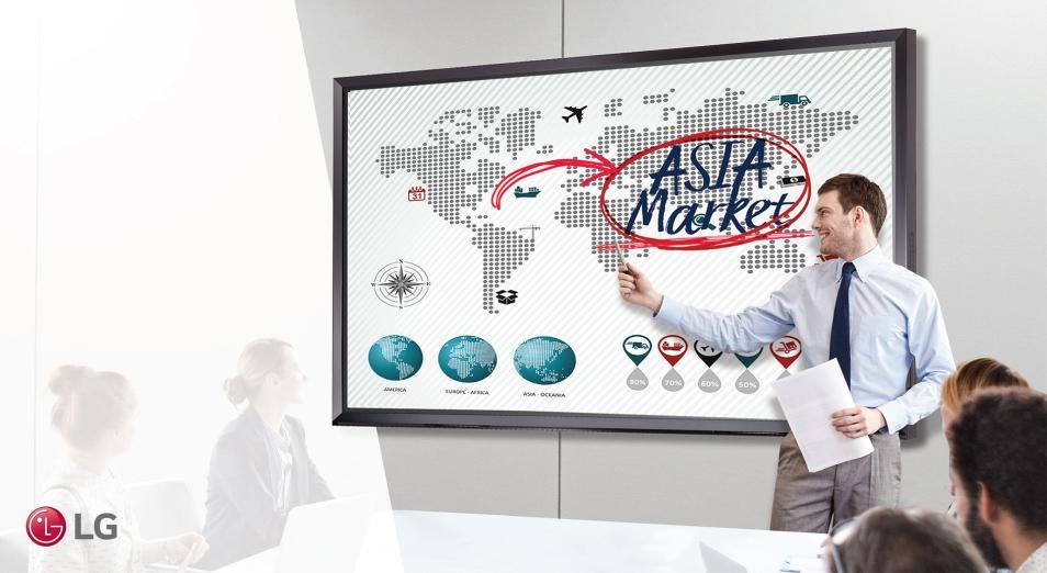 Интерактивные решения LG Electronics для бизнеса и обучения