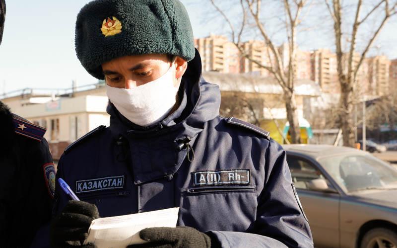 За нарушение карантина в СКО оштрафованы около 60 человек