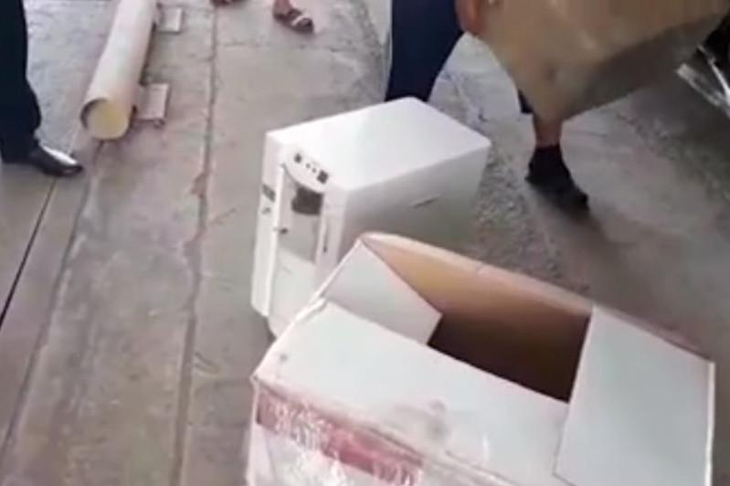 В Туркестанской области таможенники изъяли кислородные концентраторы без документов