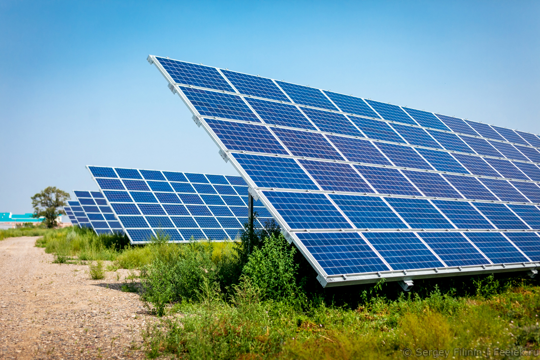 Вторую очередь солнечной электростанции близ Капшагая закончат в III квартале 2019 года