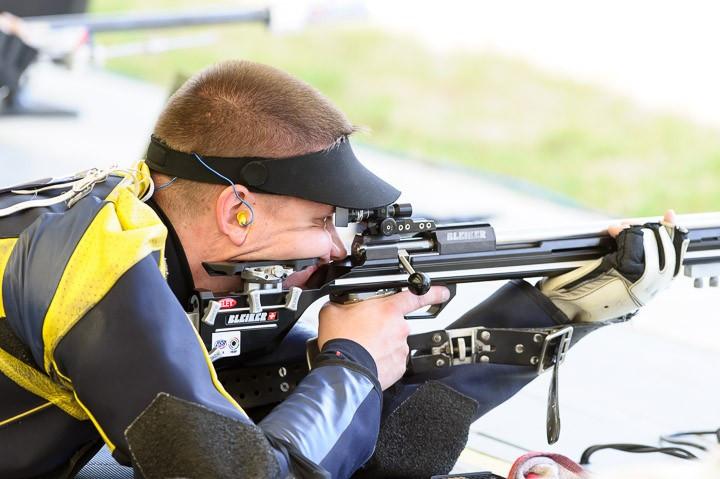 Юрий Юрков выступил на лицензионном этапе Кубка мира по пулевой стрельбе