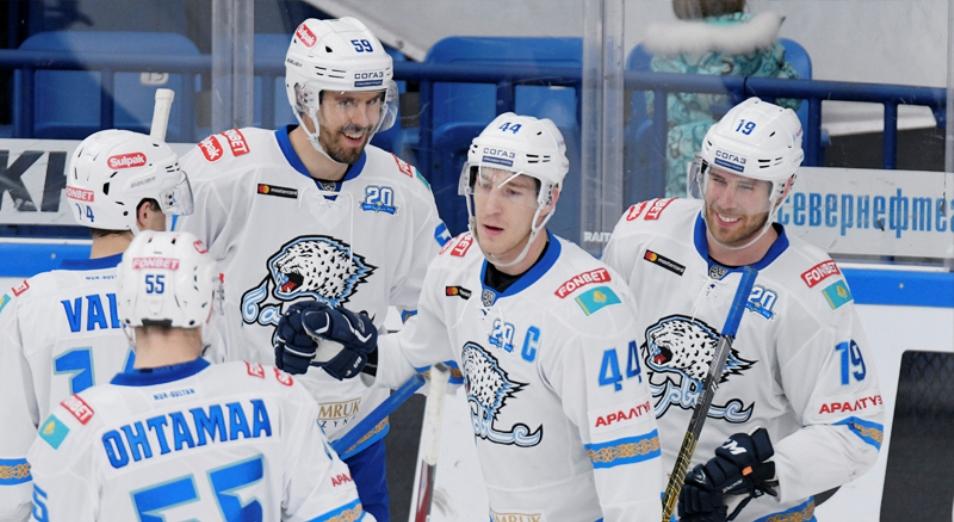 Регулярка КХЛ: «Барыс» продлил победную серию на выезде