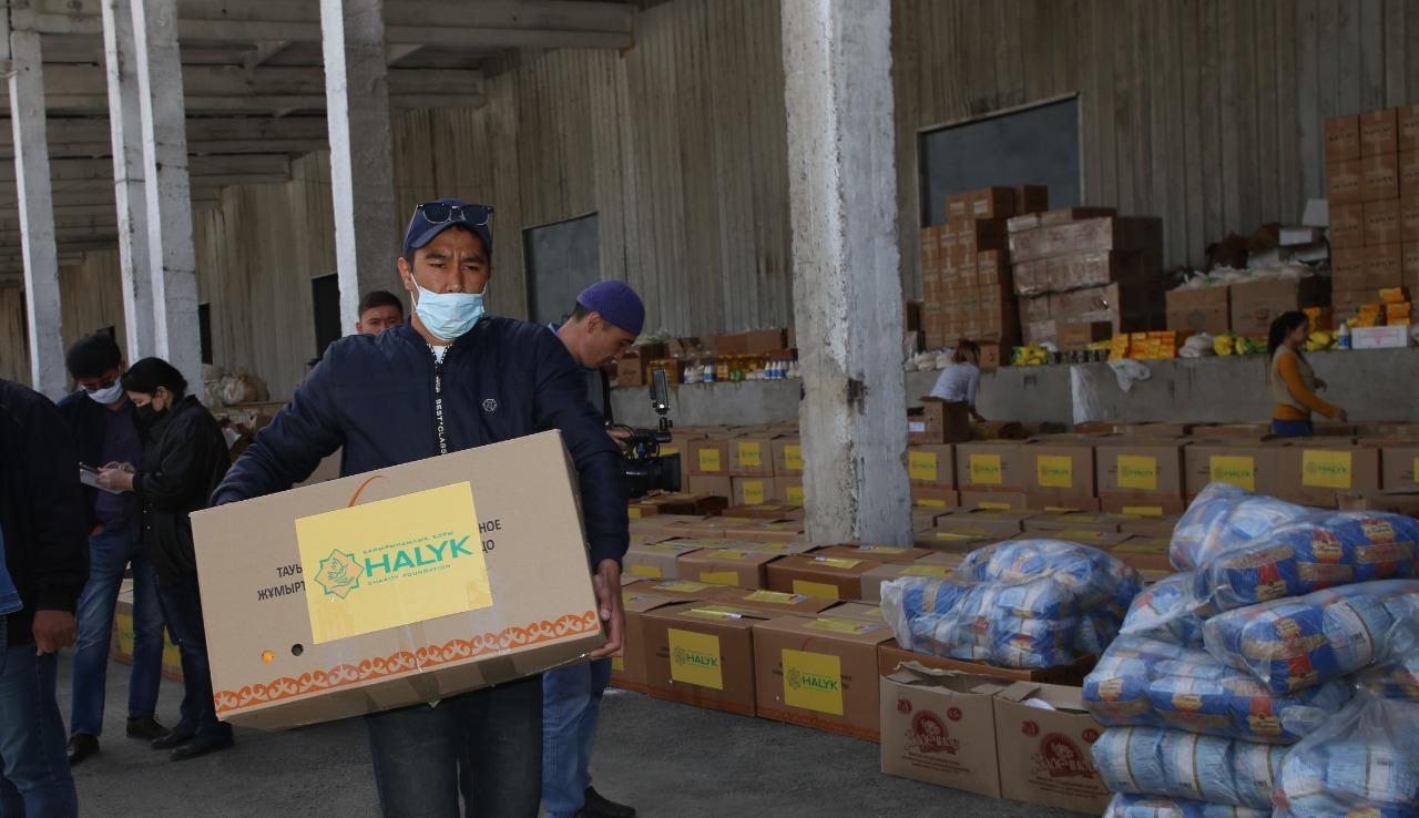 20 тысяч семей получили помощь от фонда «Халык»