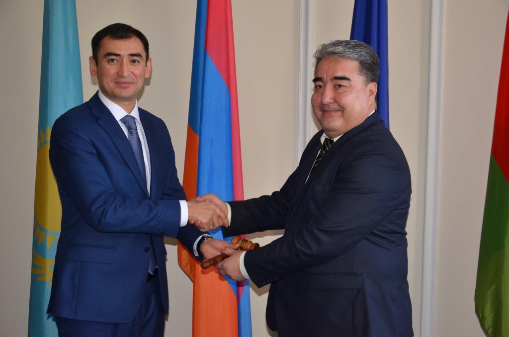 Аман Мамбетсеитов возглавил Постоянный совет ОДКБ