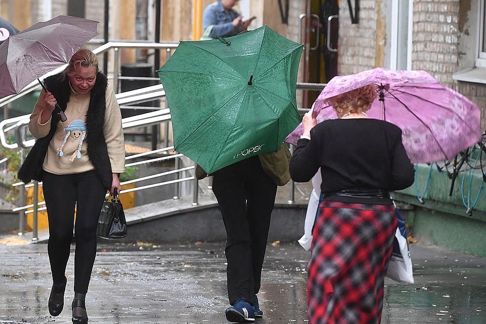 Казахстанцев ждет дождливое воскресенье