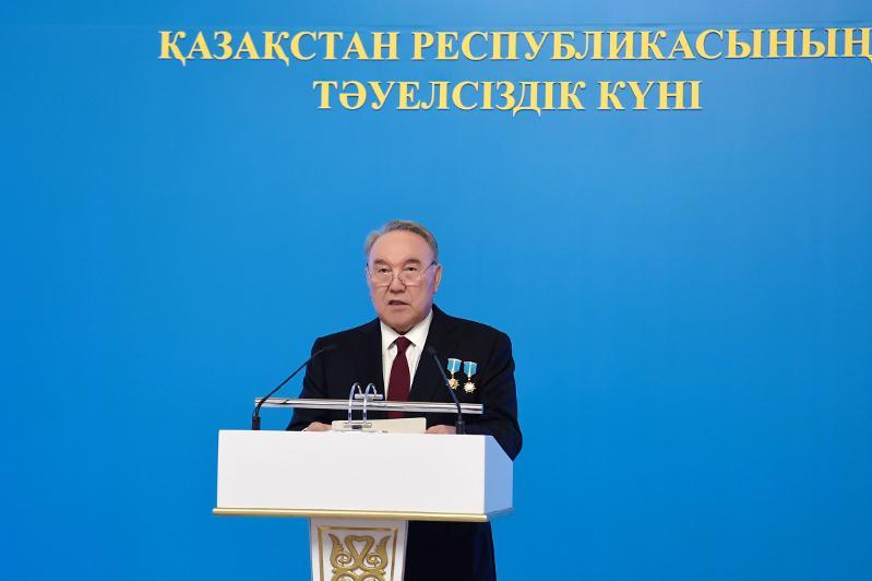 Елбасы: «Все усилия посвятил тому, чтобы Казахстан показывал себя достойно»