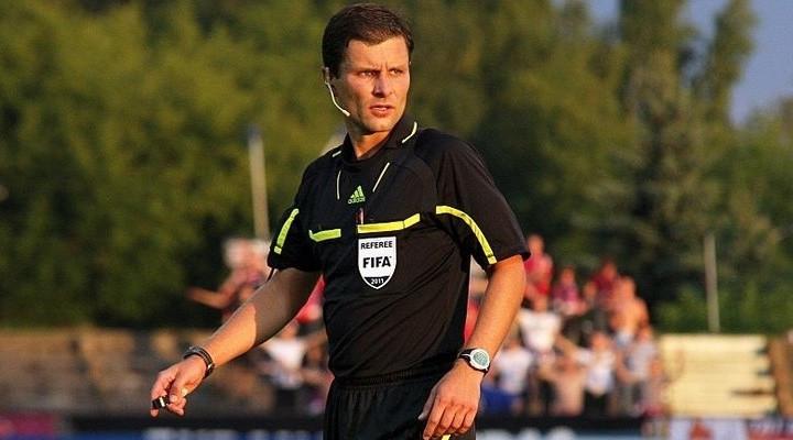 Бригада арбитров из Литвы обслужит сегодняшний матч Казахстан – Бельгия