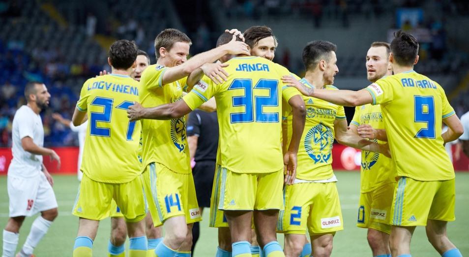 Лига Европы: «Астана» сделала разницу дома