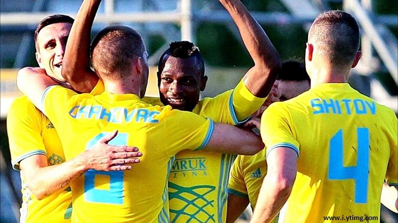 ФК «Астана» потерпел историческое поражение и прервал домашнюю серию в Лиге Чемпионов