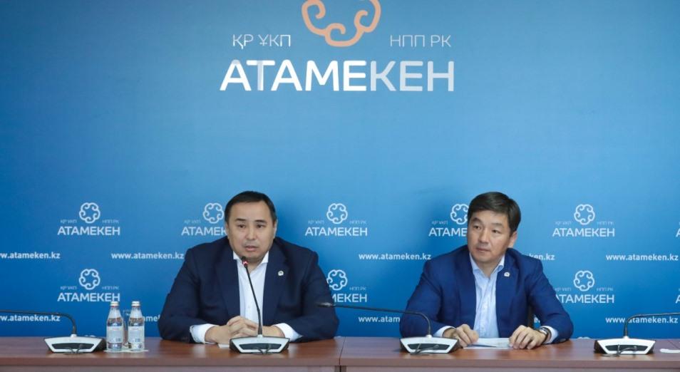 Партия Nur Otan и НПП «Атамекен» укрепляют сотрудничество