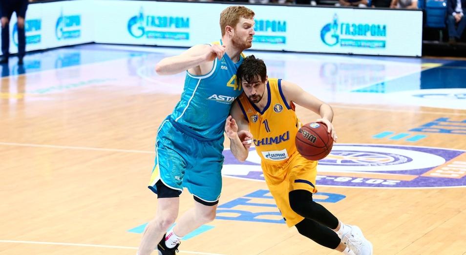 Единая лига ВТБ: «Астана» начала плей-офф с гостевого поражения