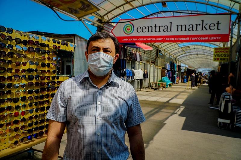Центральный рынок столицы готов приступить к работе в прежнем режиме