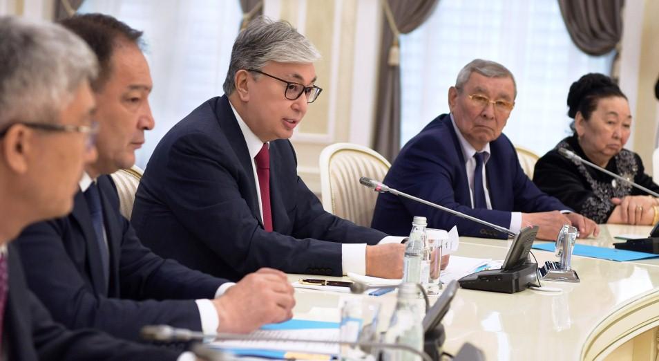 Касым-Жомарт Токаев встретился с общественностью Мангистауской области