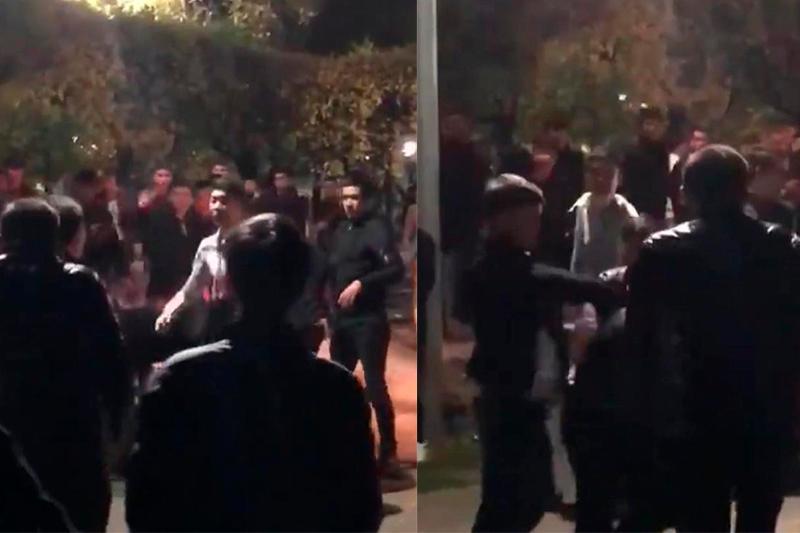 Молодежь устроила ночью массовую драку в центре Алматы