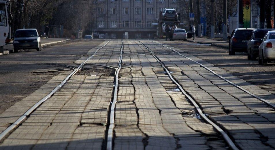 На содержание и ремонт трамвайных путей Усть-Каменогорска направлено полмиллиарда тенге