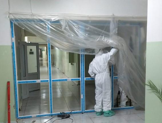 В Алматы начали переоборудовать городские объекты под госпитали