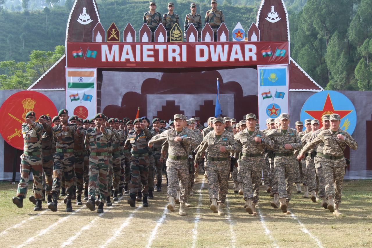 Совместные казахстанско-индийские военные учения стартовали в Индии