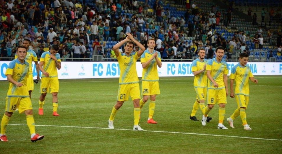 «Астана» обыграла «Брондбю»