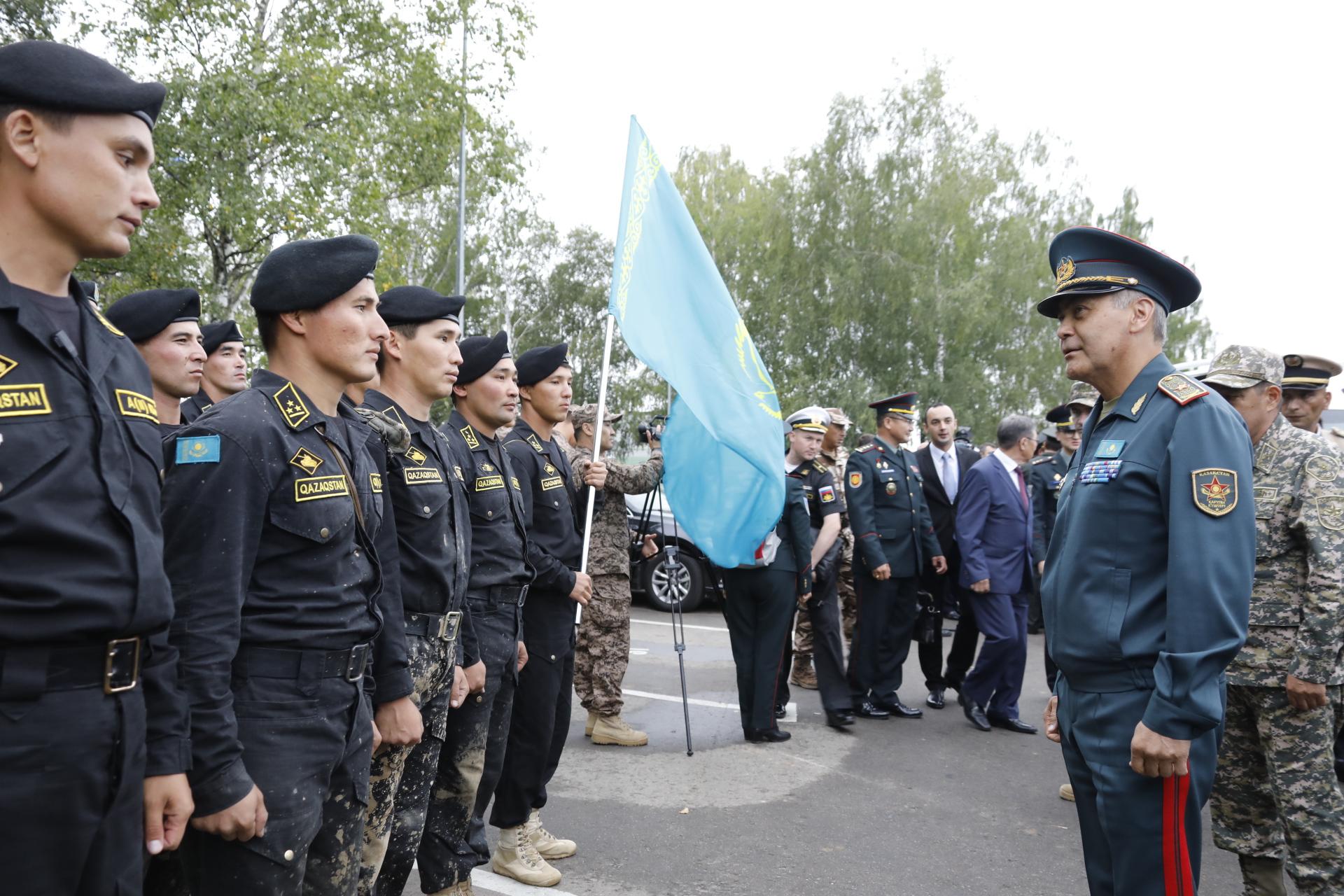 V Армейские международные игры: сборная Казахстана награждена в общекомандном зачете