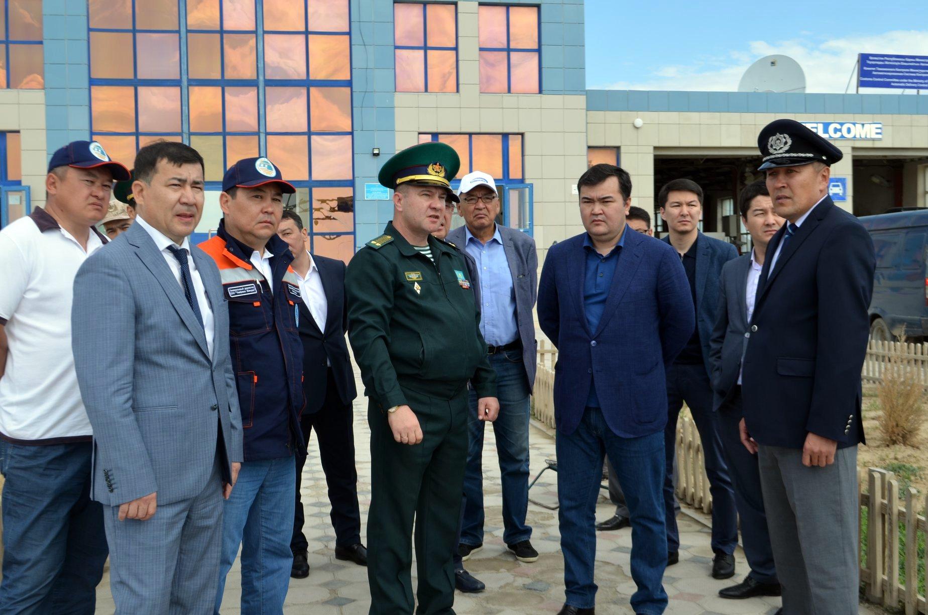 Заместитель Премьер-министра посетил таможенный пост «Тажен» в Мангистауской области