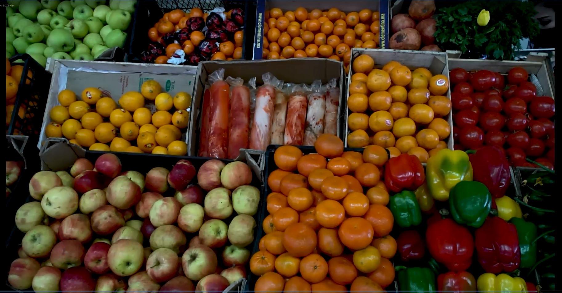 В Нур-Султане цены на социально значимые товары под контролем