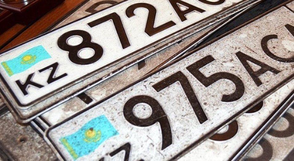 Казахстанцам предлагают за 15-20 тысяч тенге изготовить дубликаты госномеров для автомобилей