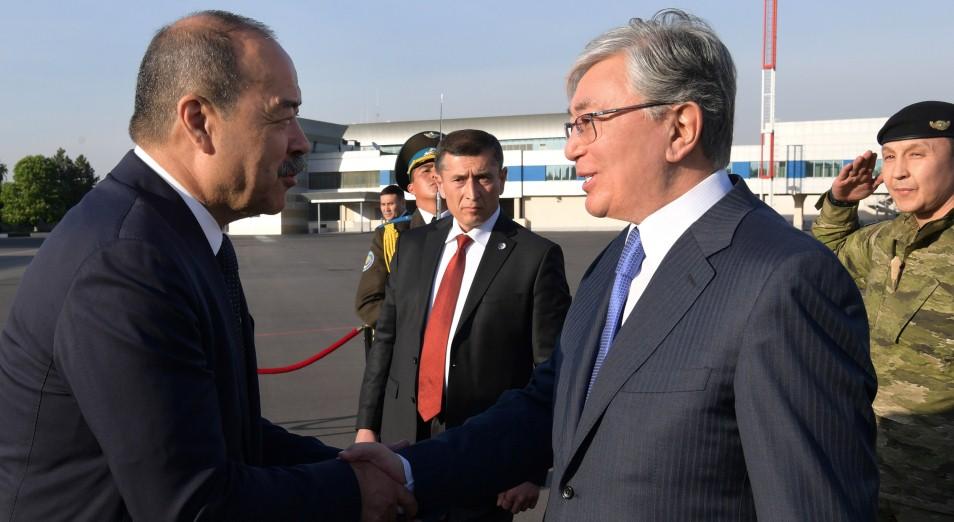 Касым-Жомарт Токаев находится с государственным визитом в Республике Узбекистан