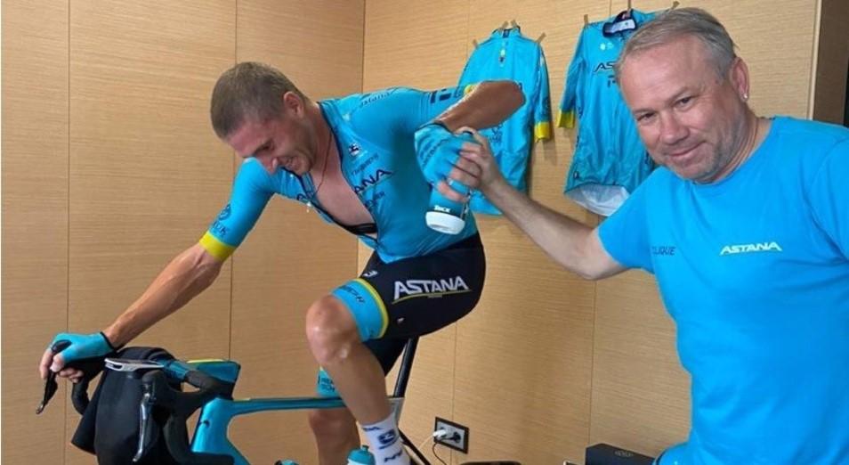 «Астана» сохраняет лидерство в виртуальном Giro d'Italia
