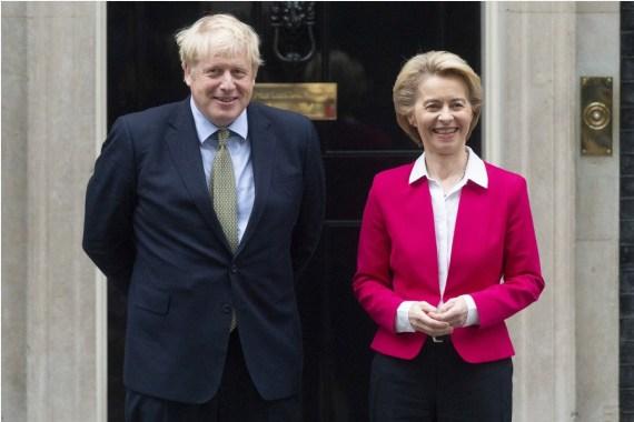 Лидеры Великобритании и ЕС обсудили по телефону переговоры о будущем двусторонних отношений