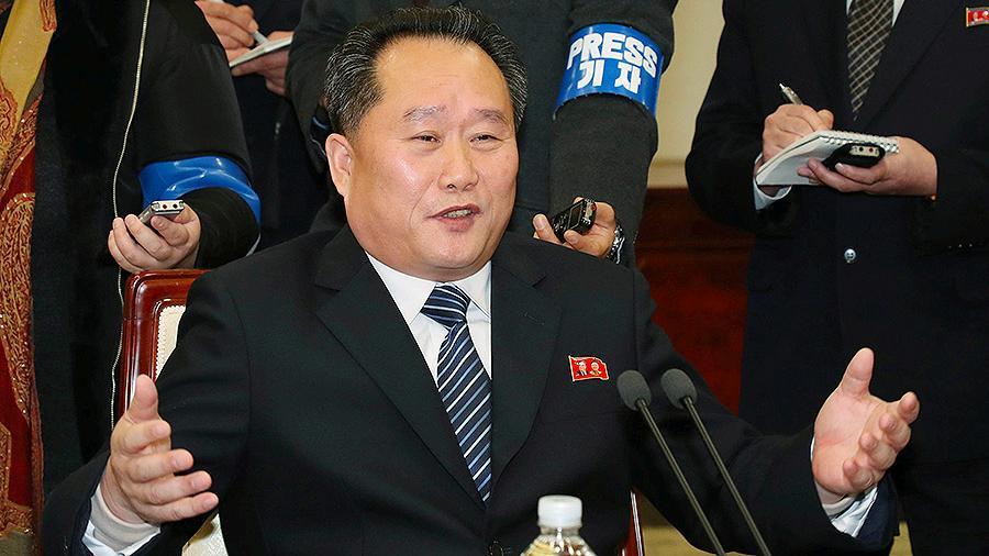 Главой МИД Северной Кореи назначен Ри Сон Гвон