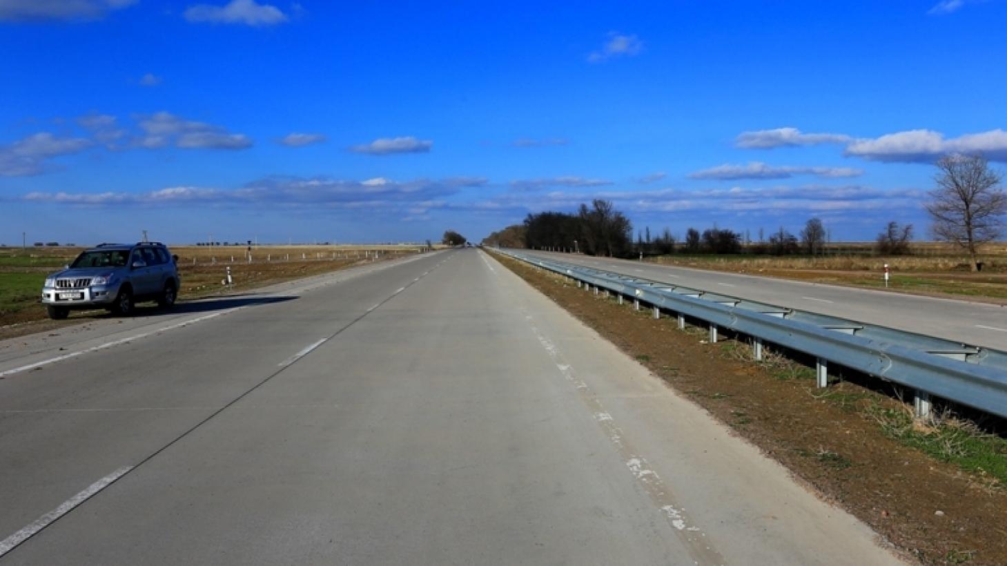 Начался ремонт автомагистрали «Западная Европа – Западный Китай»