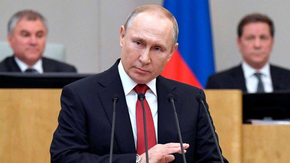 Путин 83 жасқа дейін билік етуі мүмкін