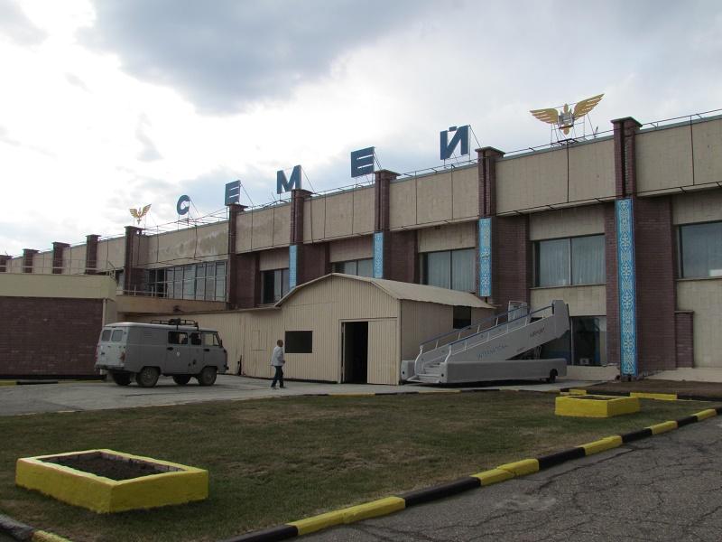 В аэропорту Семея завершилась реконструкция ВПП