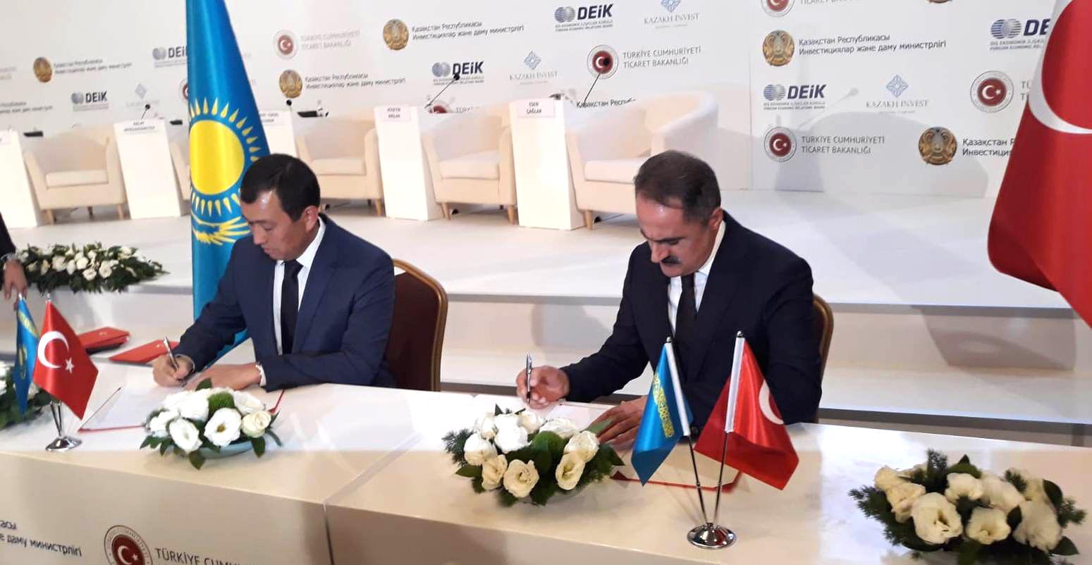 Железнодорожные администрации Казахстана и Турции подписали в Анкаре соглашение о стратегическом сотрудничестве