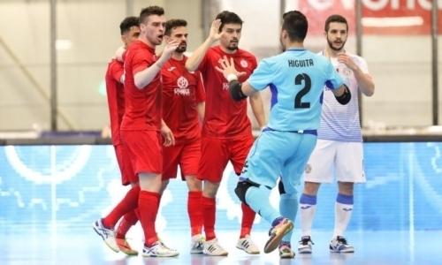 """Футзальный """"Кайрат"""" вышел в """"Финал четырех"""" кубка УЕФА"""