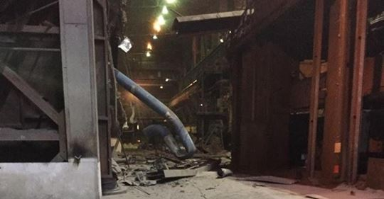 На АрселорМиттал Темиртау остановлена работа нескольких цехов после аварии и пожара