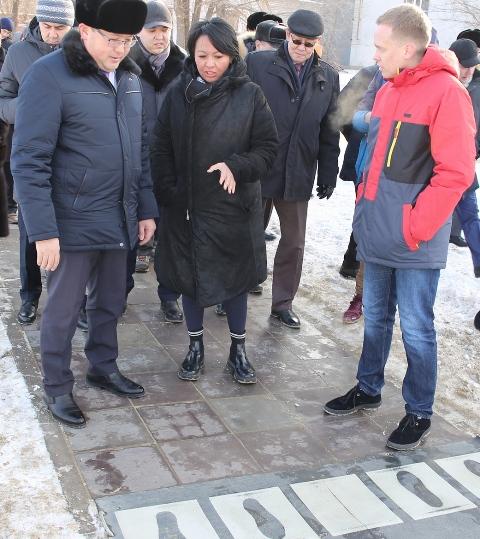 Пешеходные плиты для выработки электроэнергии разработали учёные Павлодара