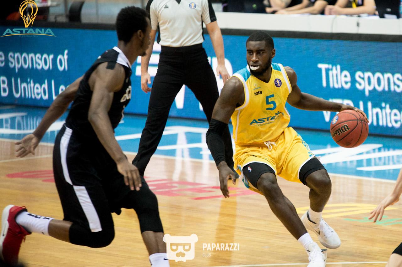 Баскетболисты «Астаны» уступили команде «Нижнего Новгорода» в матче Лиги ВТБ